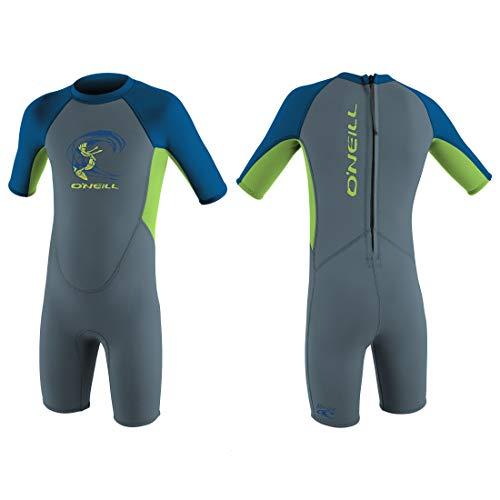 O'Neill Kinder Neoprenanzug Toddler Reactor Spring FX6 Graphite/Dayglo/Ocean 2