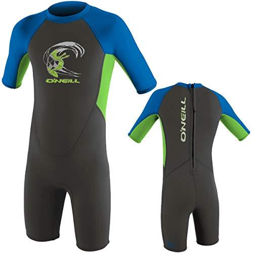 O'Neill Kinder Neoprenanzug Toddler Reactor Spring FX6 Graphite/Dayglo/Ocean 2 - 3