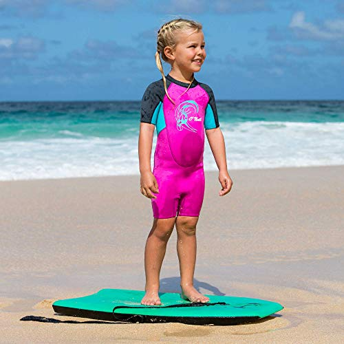 O'Neill Wetsuits Kinder Toddler Reactor Spring Neoprenanzug, Berry/Ltaqua/Graph, 4 Jahre - 6