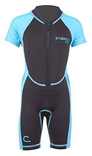 Scubatec Neopren-Lycra Kindershorty, blau, 128-134 (S)