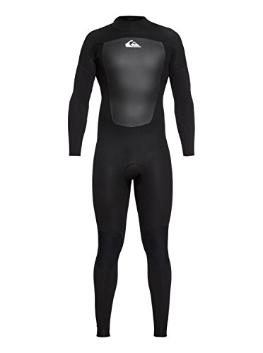 QUIKSILVER Herren 4/3mm Prologue-Back Zip Wetsuit für Männer, Black, M