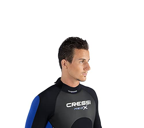 Cressi Med X Men's - Shorty Herren Neoprenanzug Premium Neopren 2.5 mm - 3