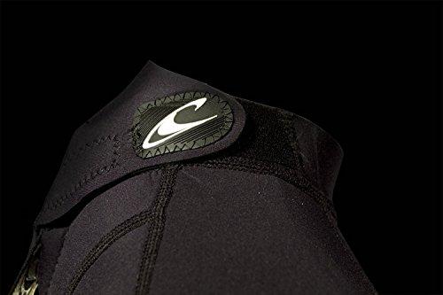 O'Neill Herren Reactor II 2mm Back Zip Spring Wetsuit, schwarz, M - 4
