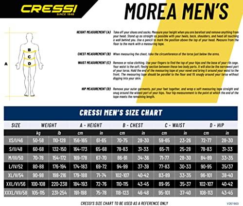 Cressi Morea Herren – Neoprenanzug 3mm für alle Wassersportarten - 7