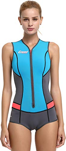 Cressi Idra Neoprene Swimsuit 2mm - Damen Swimming Wetsuit