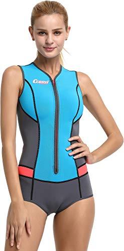 Cressi Idra Neoprene Swimsuit 2mm – Damen Swimming Wetsuit - 3