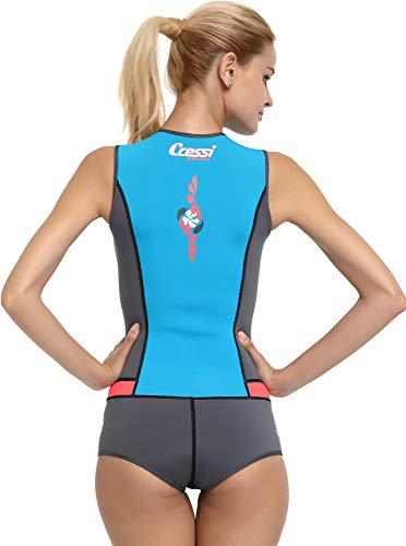 Cressi Idra Neoprene Swimsuit 2mm – Damen Swimming Wetsuit - 4
