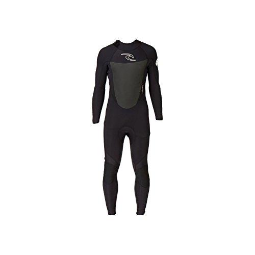 Rip Curl Dawn Patrol 4/3mm GBS Back Zip Steamer Wetsuit BLACK WSM4EM Wetsuit Sizes - Small