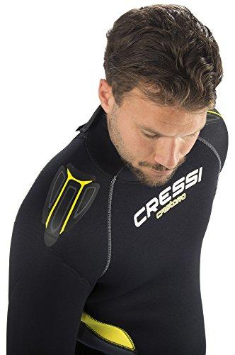 Castro Neoprenanzug, schwarz/gelb/grau - 2