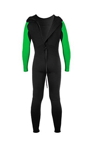 Active Full Long Sleeve Neoprenanzug, grün/schwarz - 2